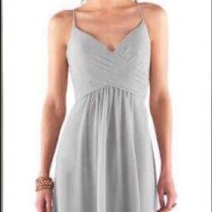 Bridesmaid Sorella Vita Style 8798 in Platinum